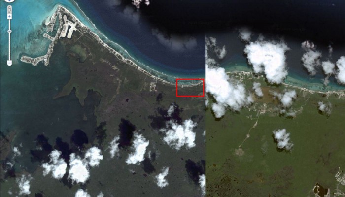 Google Map Image of Rum Point, Grand Cayman