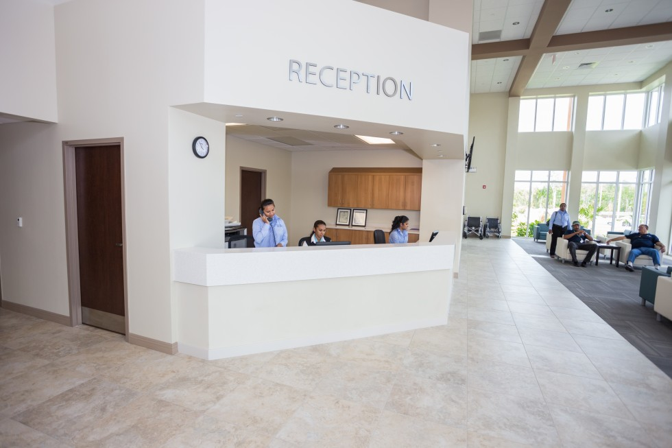 HCCI Reception Area